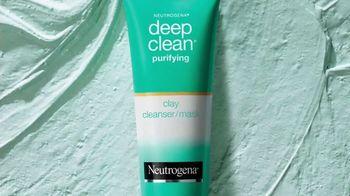 Neutrogena Deep Clean Purifying Clay Cleanser & Mask TV Spot, 'Toxins' Featuring Eiza González - Thumbnail 5