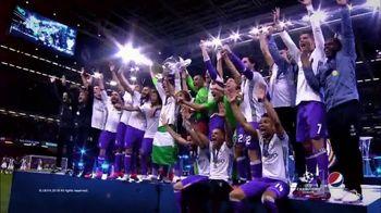 Pepsi TV Spot, 'UEFA Champions League' - 157 commercial airings