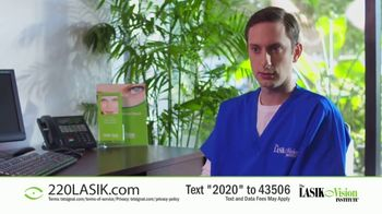 The LASIK Vision Institute TV Spot, 'Affordable and Easy: $220' - Thumbnail 3
