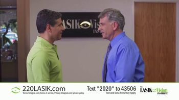 The LASIK Vision Institute TV Spot, 'Affordable and Easy: $220' - Thumbnail 5