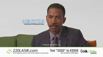 The LASIK Vision Institute TV Spot, 'Affordable and Easy: $220' - Thumbnail 6