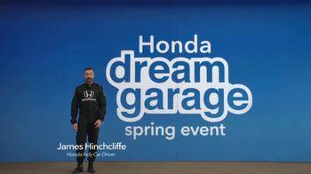 Honda Dream Garage Spring Event TV Spot, 'Dreams Do Come True: 2018 HR-V' [T1] - Thumbnail 2