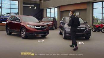 Honda Dream Garage Spring Event TV Spot, 'Dreams Do Come True: 2018 HR-V' [T1] - Thumbnail 5