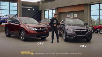 Honda Dream Garage Spring Event TV Spot, 'Dreams Do Come True: 2018 HR-V' [T1] - Thumbnail 6