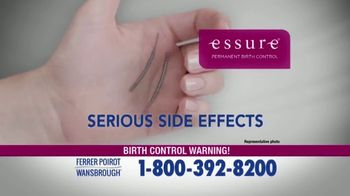 Ferrer, Poirot and Wansbrough TV Spot, 'Essure Birth Control' - Thumbnail 2