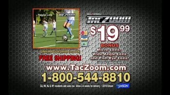 Tac Zoom TV Spot, 'Boost Your Zoom' Featuring Nick Bolton - Thumbnail 10