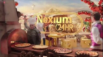 Nexium 24HR TV Spot, 'Pizza and Heartburn' - Thumbnail 1
