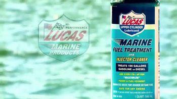 Lucas Marine Fuel Treatment TV Spot, 'Cleans & Lubricates'