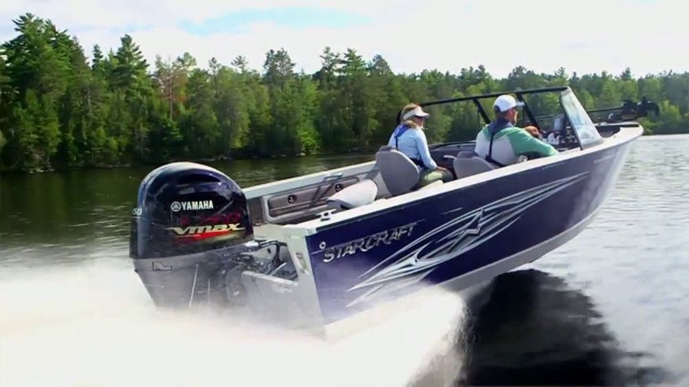 Yamaha Outboards VMAX SHO TV Commercial, 'Vicous, Lean, Efficient' - Video