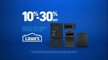 Lowe's TV Spot, 'Not Enough Oven: Appliance Special Values' - Thumbnail 9