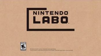 Nintendo Labo Robot Kit TV Spot, 'Make, Play & Discover' - Thumbnail 9