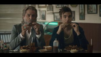 Carl's Jr. Baby Back Rib Burger TV Spot, 'Rib Joint' Feat. Charles Esten - 4605 commercial airings