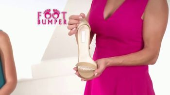 Foot Bumper TV Spot, 'Instant Pressure Relief' Featuring Taylor Baldwin