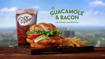 Jack in the Box Guacamole and Bacon Chicken Sandwich TV Spot, 'Top Floor' - Thumbnail 10