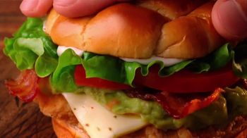 Jack in the Box Guacamole and Bacon Chicken Sandwich TV Spot, 'Top Floor' - Thumbnail 7
