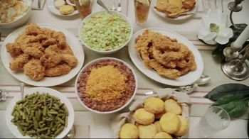 Popeyes $5 Flavor Favorites TV Spot, 'Endless Table' - Thumbnail 4