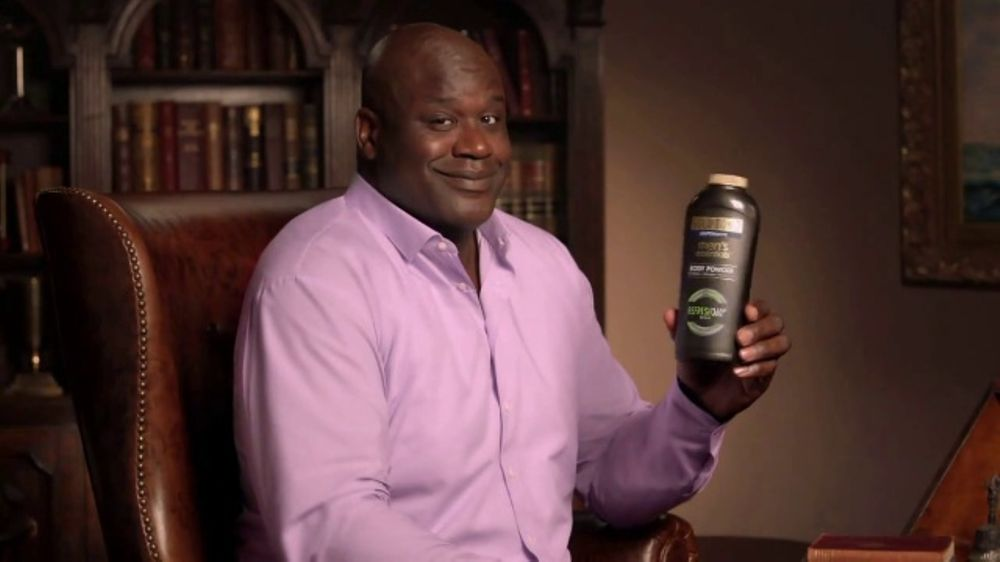 Gold Bond Ultimate Body Powder TV Commercial, 'Extra Mile' Feat. Shaquille O'Neal - iSpot.tv