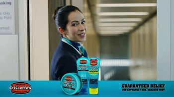 O'Keeffe's Healthy Feet TV Spot, 'Guaranteed Relief for Dry, Cracked Feet' - 2706 commercial airings