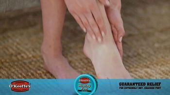 O'Keeffe's Healthy Feet TV Spot, 'Guaranteed Relief for Dry, Cracked Feet' - Thumbnail 6