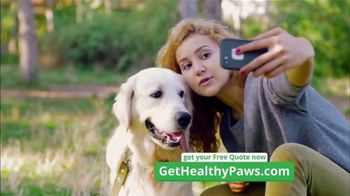 Healthy Paws Pet Insurance TV Spot, 'Pet Insurance for Dogs and Cats'