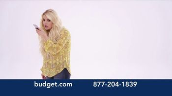 Budget Rent a Car TV Spot, 'You've Arrived: SUV' Featuring Jessica Simpson - Thumbnail 1