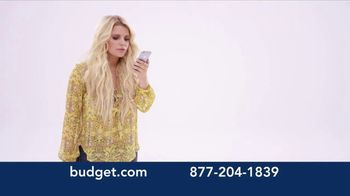 Budget Rent a Car TV Spot, 'You've Arrived: SUV' Featuring Jessica Simpson - Thumbnail 2