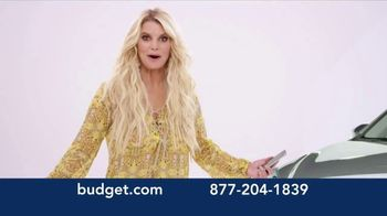 Budget Rent a Car TV Spot, 'You've Arrived: SUV' Featuring Jessica Simpson - Thumbnail 3