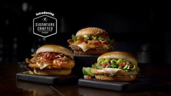 McDonald's Signature Crafted Recipes TV Spot, 'Barbecue Bacon Sandwich' - Thumbnail 1