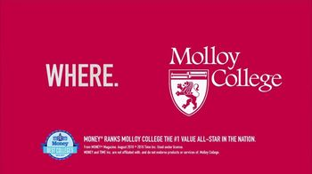 Molloy College TV Spot, 'Number One Value All-Star' - Thumbnail 8