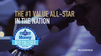Molloy College TV Spot, 'Number One Value All-Star' - Thumbnail 7