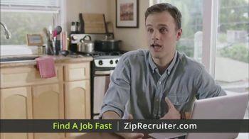 ZipRecruiter TV Spot, 'Fast Jobs' - Thumbnail 1