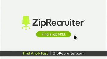 ZipRecruiter TV Spot, 'Fast Jobs' - Thumbnail 9