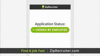 ZipRecruiter TV Spot, 'Fast Jobs' - Thumbnail 5