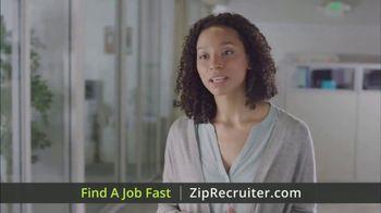 ZipRecruiter TV Spot, 'Fast Jobs' - Thumbnail 7