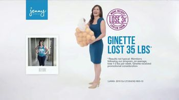 Jenny Craig TV Spot, 'Ginette: 15 Pounds for $15' - Thumbnail 1