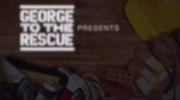 3M Large Hole Wall Repair Kit TV Spot, 'George to the Rescue: Wall Repair' - Thumbnail 1