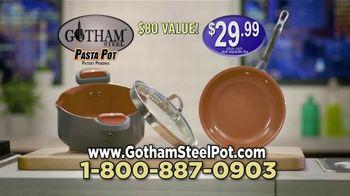 Gotham Steel Pasta Pot TV Spot, 'Perfect Straining' Featuring Daniel Green - Thumbnail 10