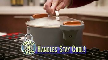 Gotham Steel Pasta Pot TV Spot, 'Perfect Straining' Featuring Daniel Green - Thumbnail 3