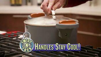 Gotham Steel Pasta Pot TV Spot, 'Perfect Straining' Featuring Daniel Green - Thumbnail 3