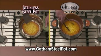 Gotham Steel Pasta Pot TV Spot, 'Perfect Straining' Featuring Daniel Green - Thumbnail 5
