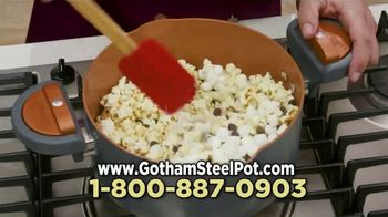 Gotham Steel Pasta Pot TV Spot, 'Perfect Straining' Featuring Daniel Green - Thumbnail 8