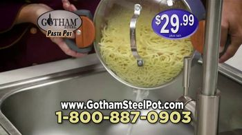Gotham Steel Pasta Pot TV Spot, 'Perfect Straining' Featuring Daniel Green - Thumbnail 9