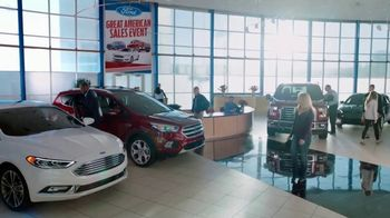 Ford Great American Sales Event TV Spot, 'Appreciation Cash' [T2] - Thumbnail 8
