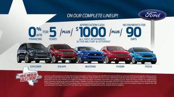 Ford Great American Sales Event TV Spot, 'Appreciation Cash' [T2] - Thumbnail 9