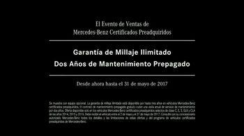 Mercedes-Benz Evento de Certificados Preadquiridos TV Spot,'Amor' [Spanish] [T2] - Thumbnail 10
