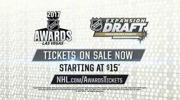 2017 NHL Awards TV Spot, 'Vegas Golden Knights Expansion Draft' - Thumbnail 10