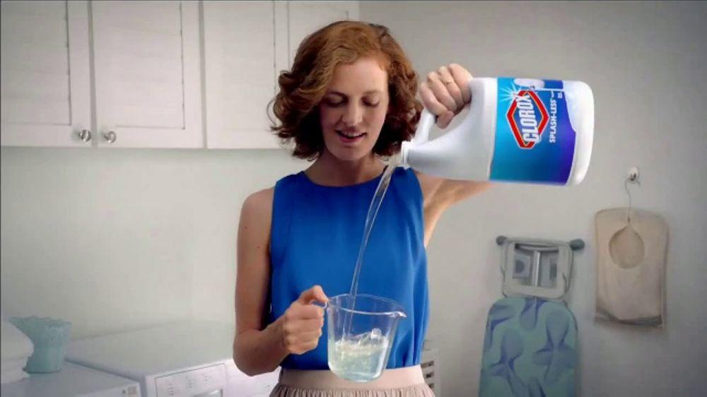 Clorox Splash-Less Bleach TV Commercial, 'Shine On ...