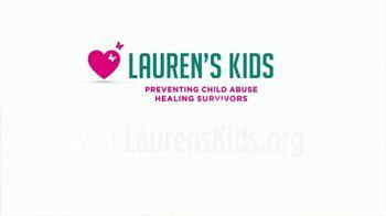 Lauren's Kids TV Spot, 'Prevention Through Education' - Thumbnail 9