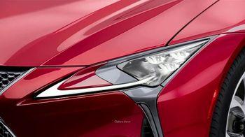 Lexus LC 500 TV Spot, 'Feats of Amazing' [T1] - Thumbnail 2