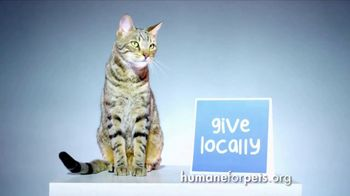 Humane Society for Shelter Pets TV Spot, 'Give Locally' - Thumbnail 3